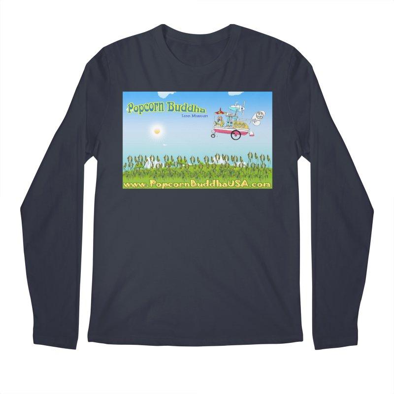 Cornfield Contraption Men's Longsleeve T-Shirt by Popcorn Buddha Merchandise