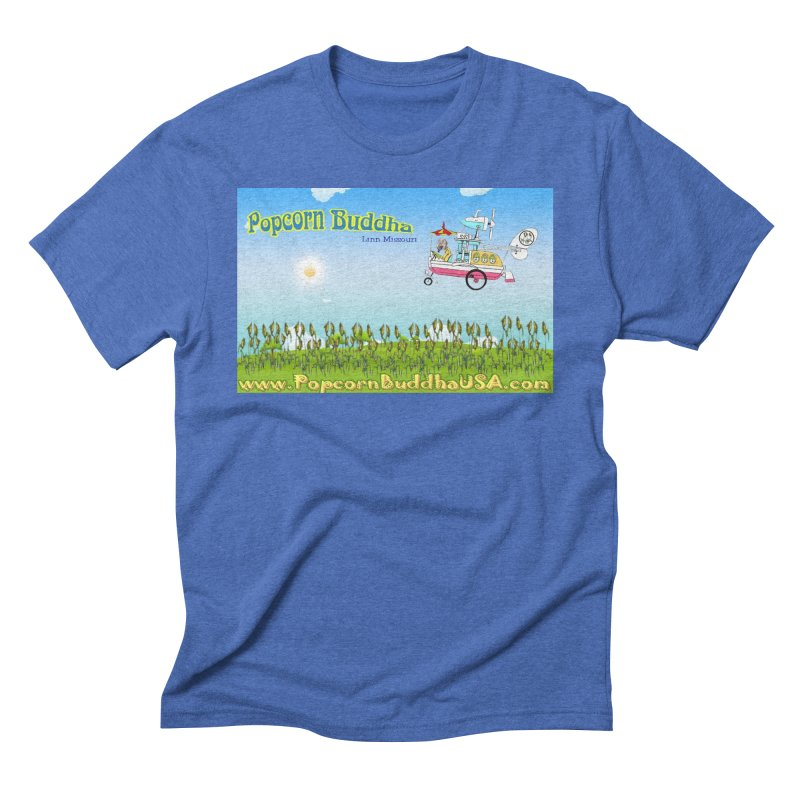 Cornfield Contraption Men's T-Shirt by Popcorn Buddha Merchandise