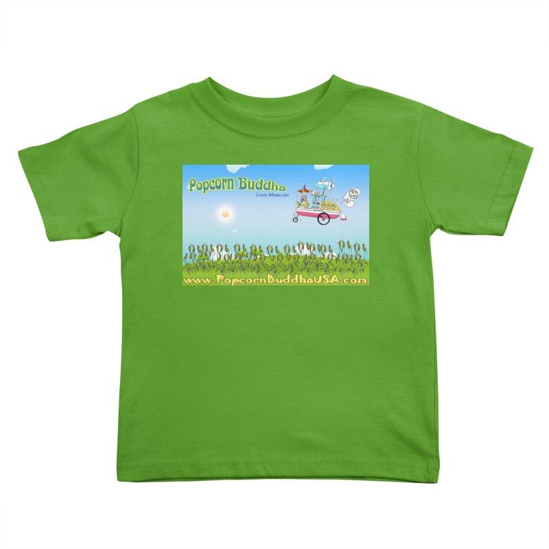 Cornfield Contraption Kids Toddler T-Shirt by Popcorn Buddha Merchandise