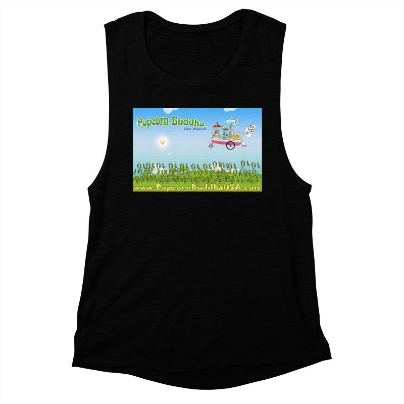 Cornfield Contraption Women's Tank by Popcorn Buddha Merchandise