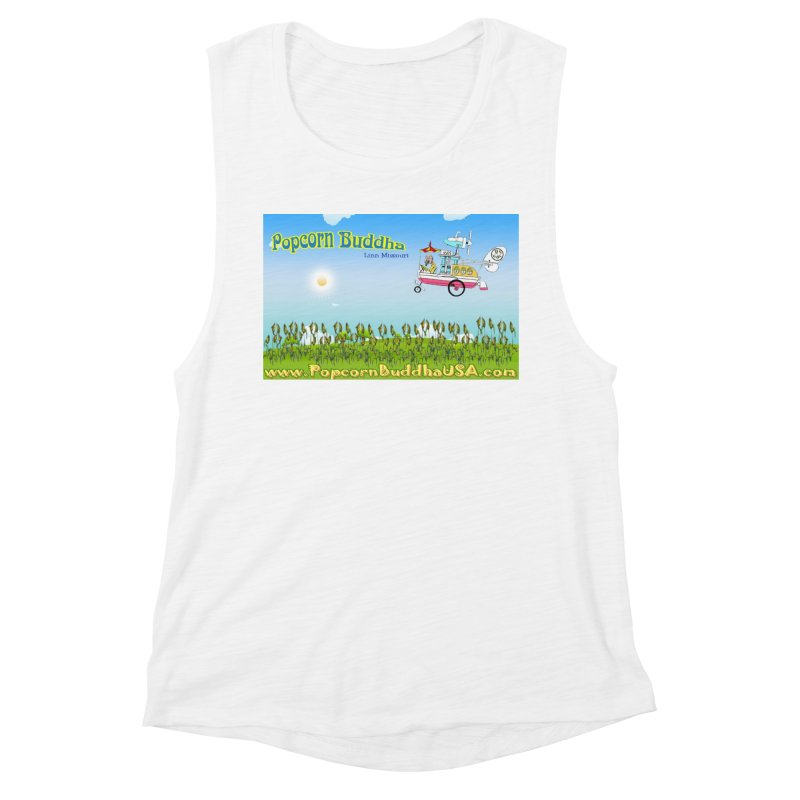 Cornfield Contraption Women's Tank by Popcorn Buddha Merchandise