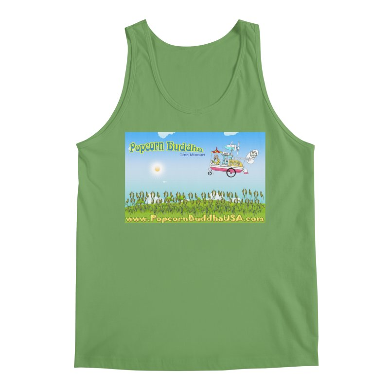Cornfield Contraption Men's Tank by Popcorn Buddha Merchandise