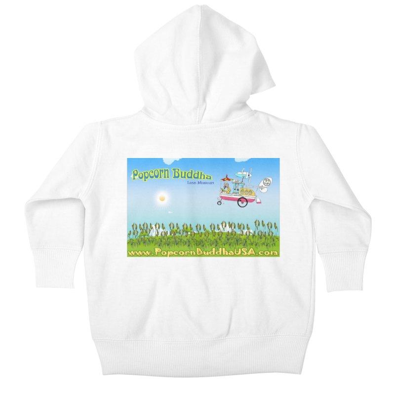 Cornfield Contraption Kids Baby Zip-Up Hoody by Popcorn Buddha Merchandise