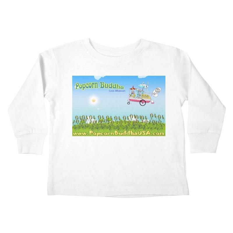 Cornfield Contraption Kids Toddler Longsleeve T-Shirt by Popcorn Buddha Merchandise