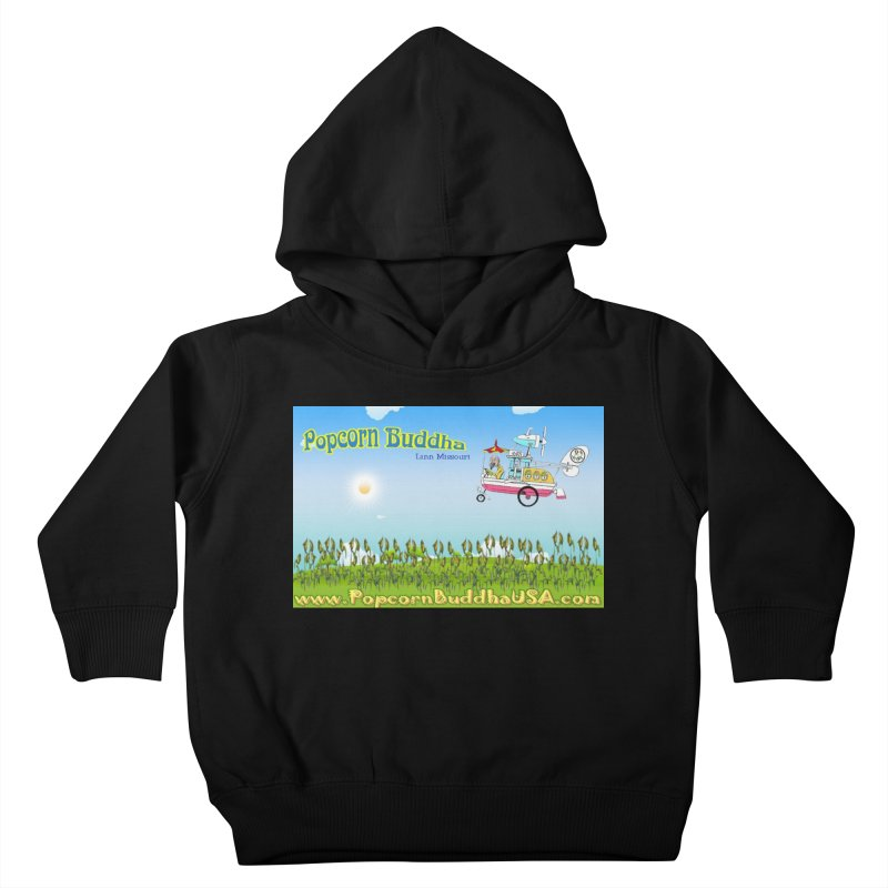 Cornfield Contraption Kids Toddler Pullover Hoody by Popcorn Buddha Merchandise
