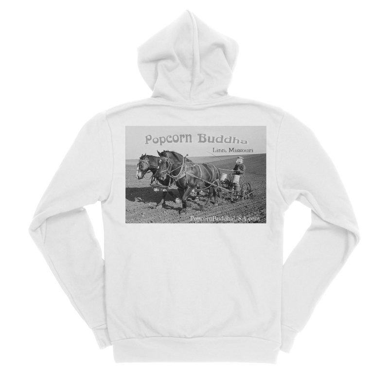 early farmer 1 Women's Zip-Up Hoody by Popcorn Buddha Merchandise