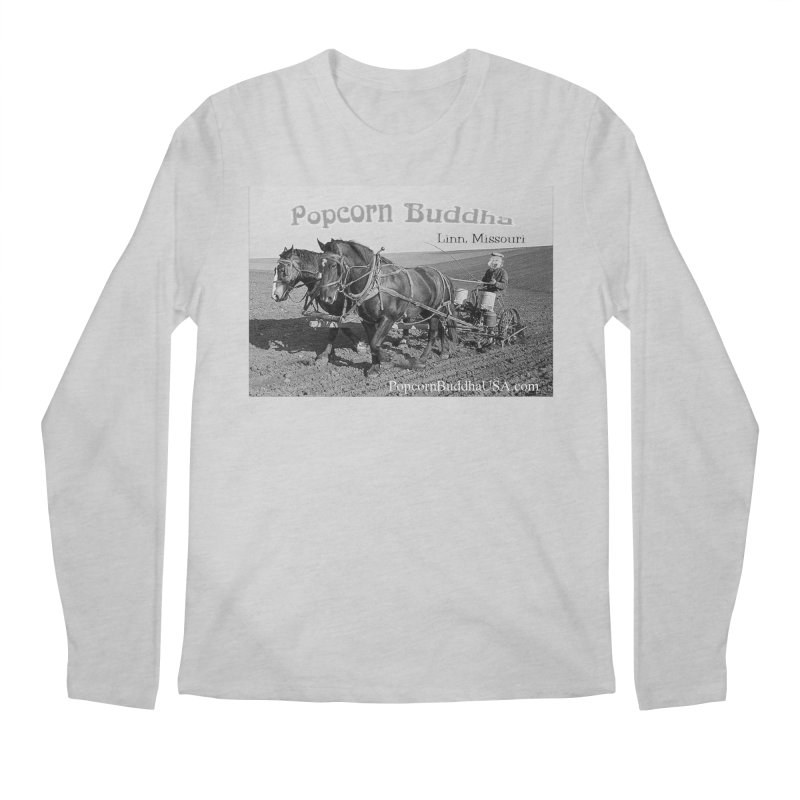 early farmer 1 Men's Longsleeve T-Shirt by Popcorn Buddha Merchandise