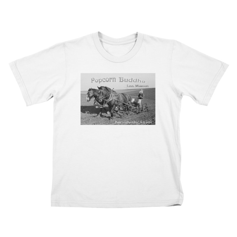 early farmer 1 Kids T-Shirt by Popcorn Buddha Merchandise