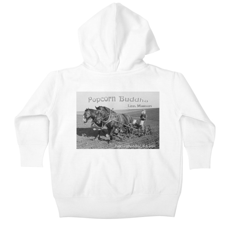 early farmer 1 Kids Baby Zip-Up Hoody by Popcorn Buddha Merchandise