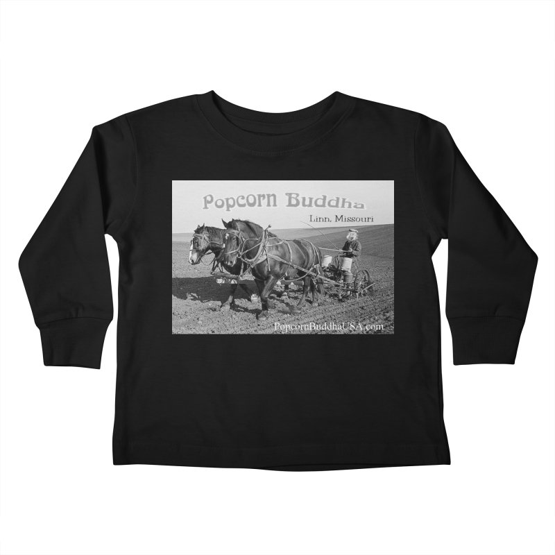early farmer 1 Kids Toddler Longsleeve T-Shirt by Popcorn Buddha Merchandise