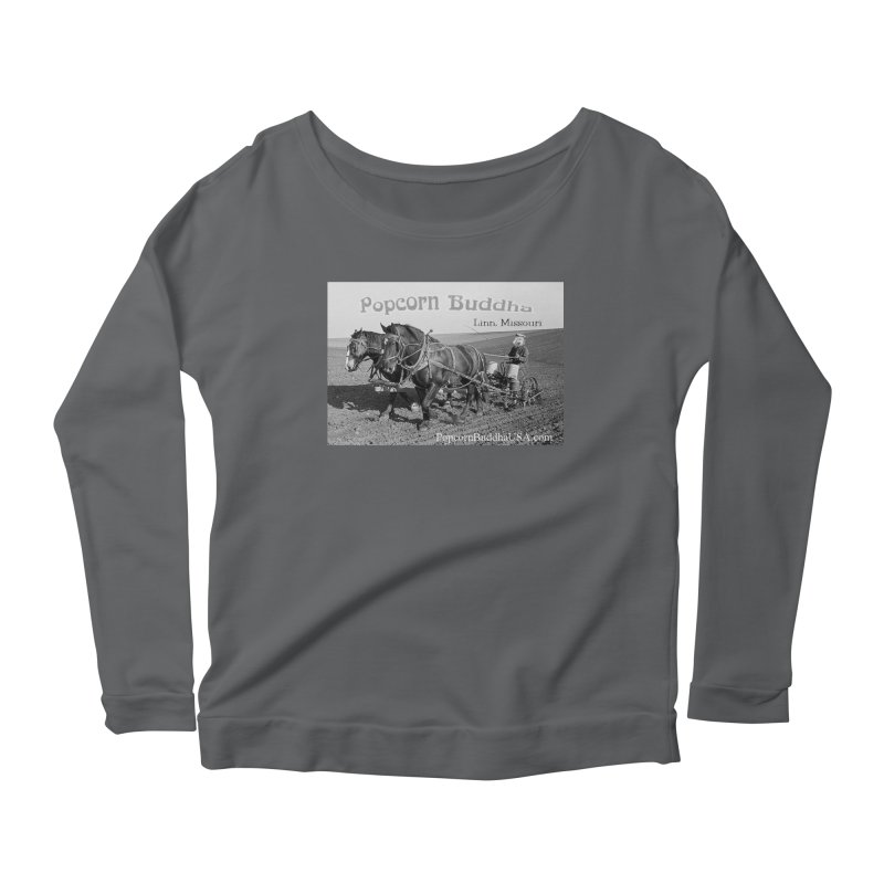 early farmer 1 Women's Longsleeve T-Shirt by Popcorn Buddha Merchandise