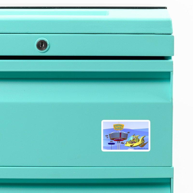 Futuristic Accessories Magnet by Popcorn Buddha Merchandise