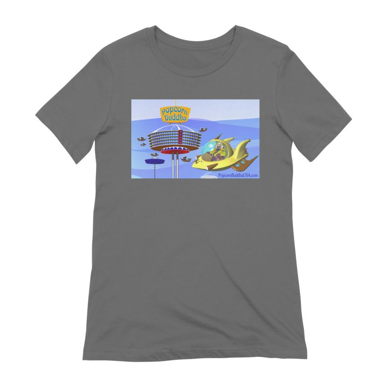 Futuristic Women's T-Shirt by Popcorn Buddha Merchandise