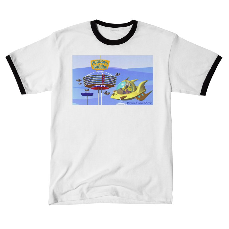 Futuristic Men's T-Shirt by Popcorn Buddha Merchandise
