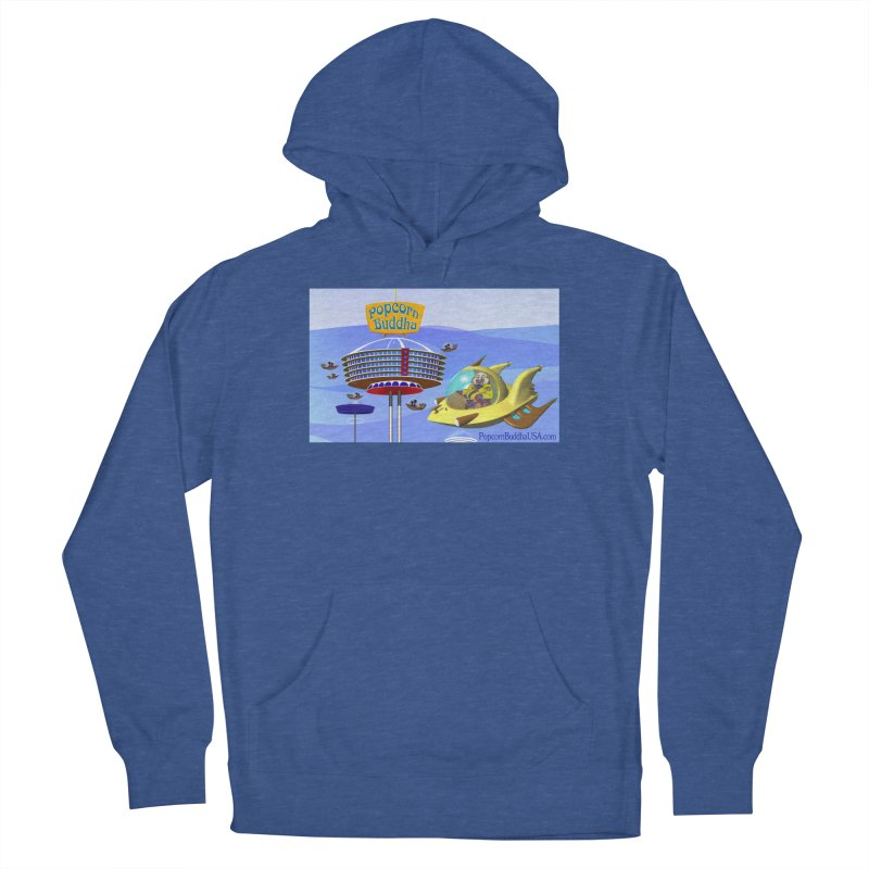 Futuristic Men's Pullover Hoody by Popcorn Buddha Merchandise