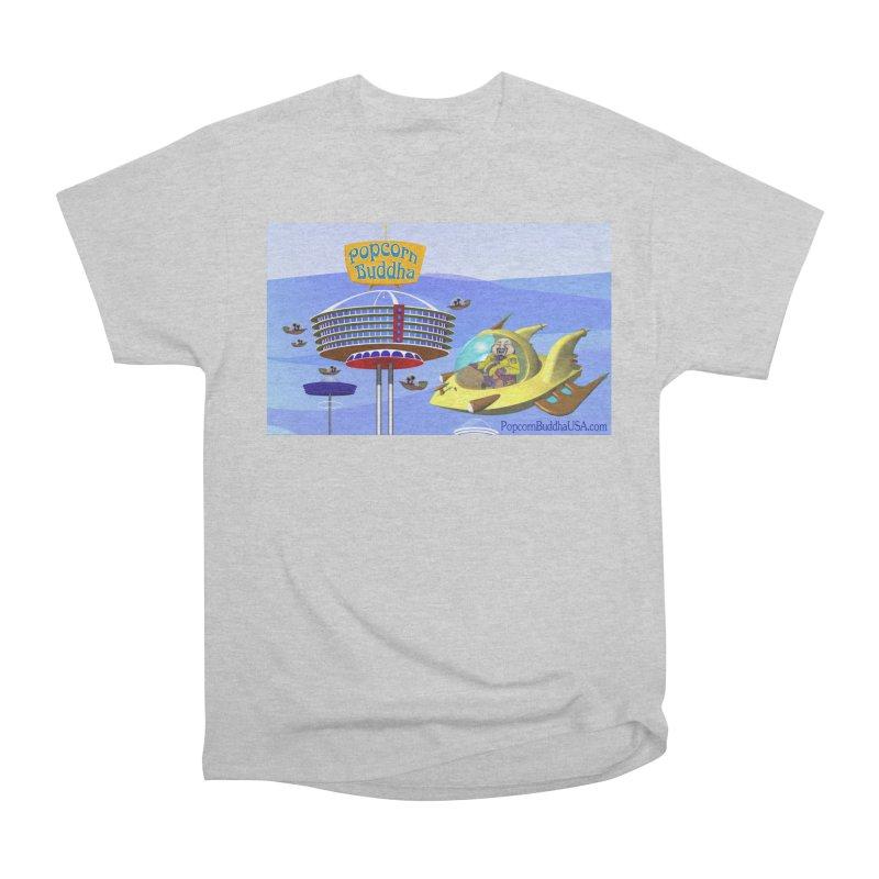 Futuristic Men's T-Shirt by Popcorn Buddha Merchandise