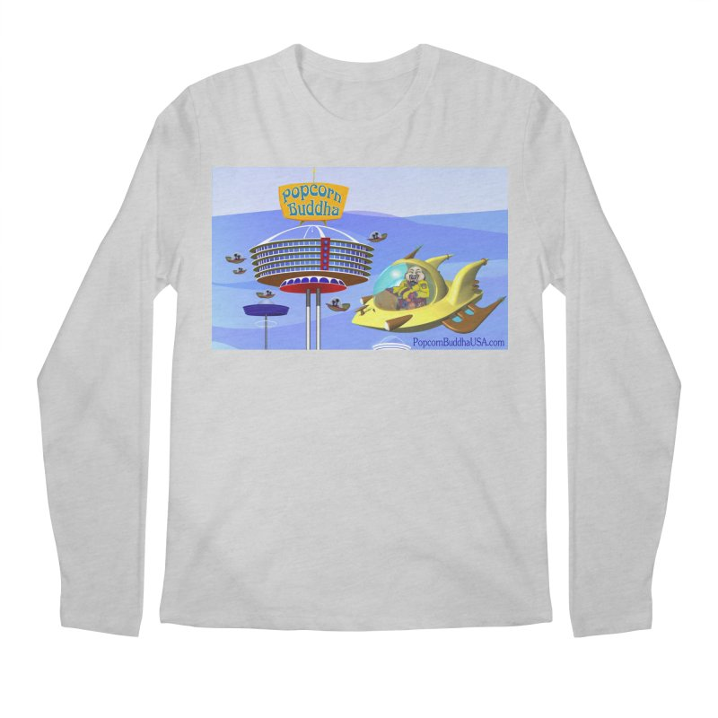 Futuristic Men's Longsleeve T-Shirt by Popcorn Buddha Merchandise