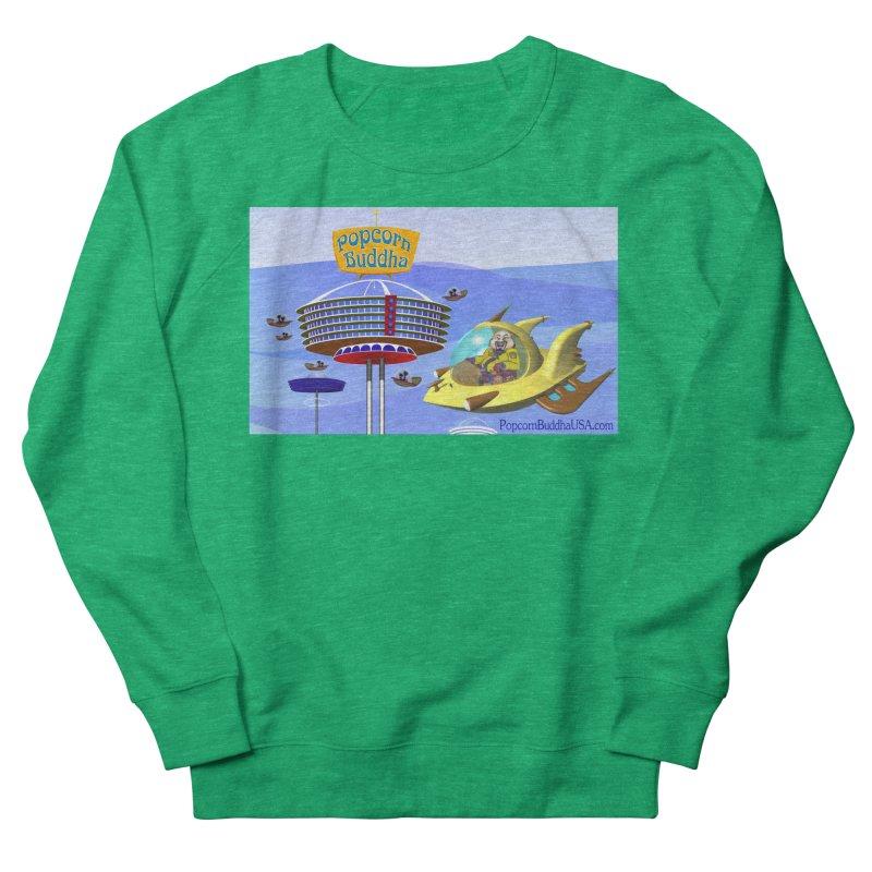 Futuristic Women's Sweatshirt by Popcorn Buddha Merchandise