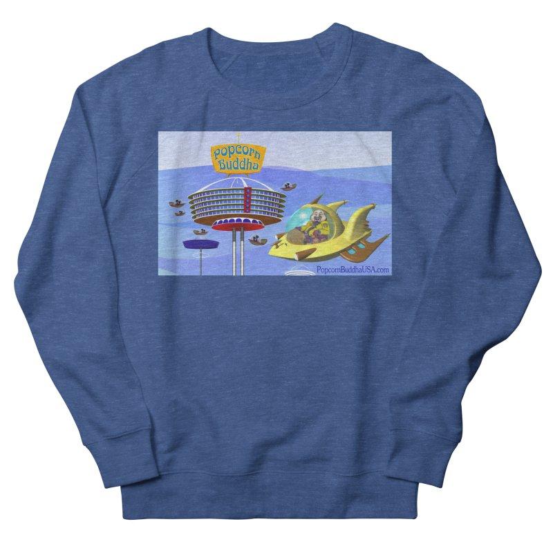 Futuristic Men's Sweatshirt by Popcorn Buddha Merchandise