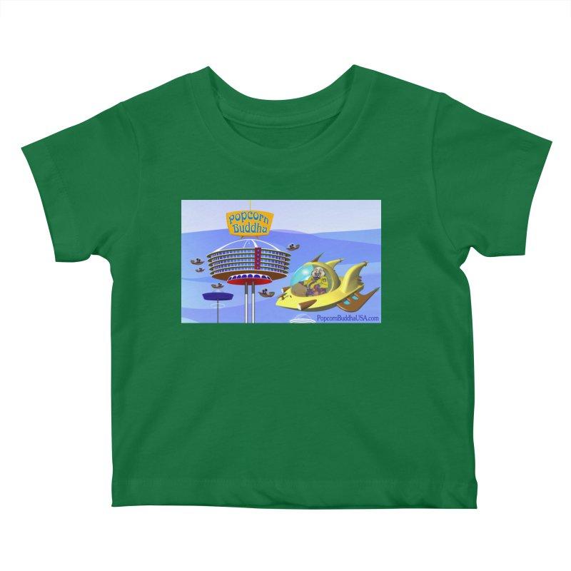 Futuristic Kids Baby T-Shirt by Popcorn Buddha Merchandise