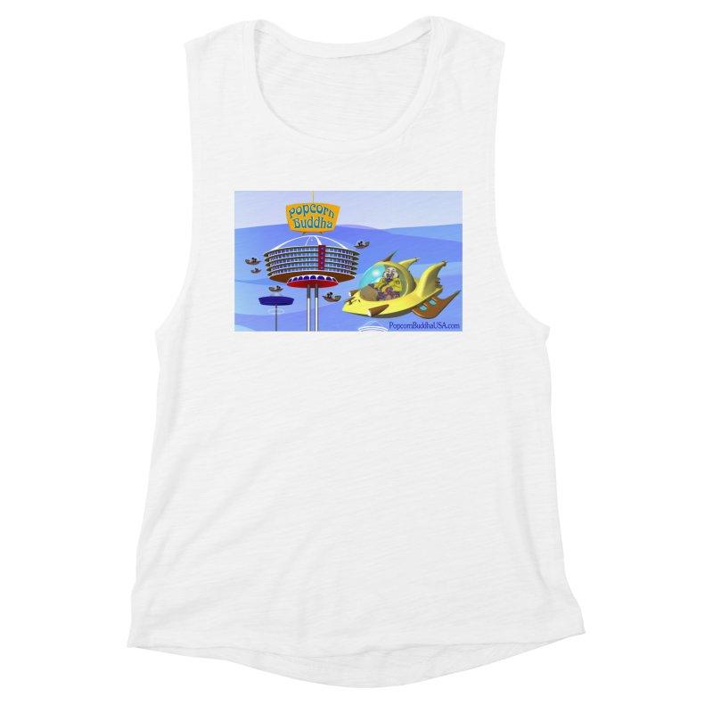Futuristic Women's Tank by Popcorn Buddha Merchandise