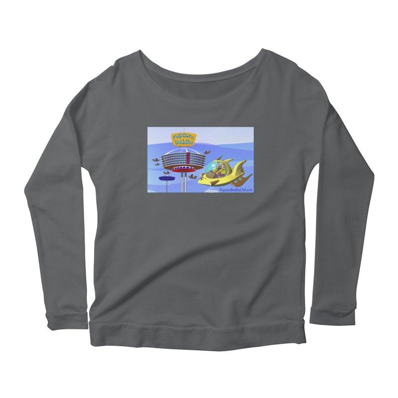 Futuristic Women's Longsleeve T-Shirt by Popcorn Buddha Merchandise
