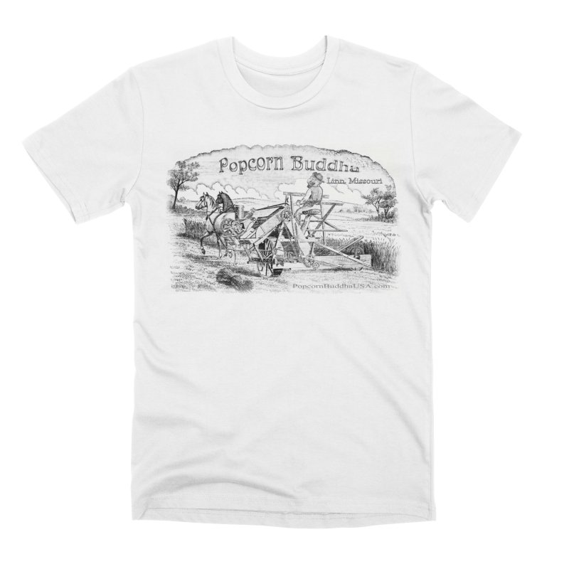 Bucolic Serenity Men's T-Shirt by Popcorn Buddha Merchandise