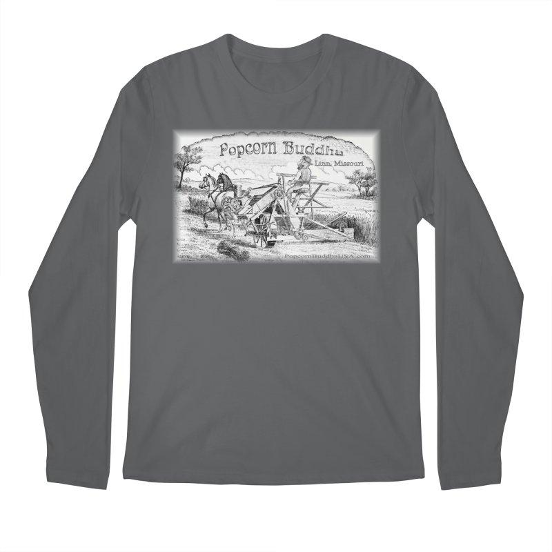 Bucolic Serenity Men's Longsleeve T-Shirt by Popcorn Buddha Merchandise