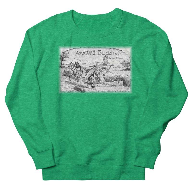 Bucolic Serenity Women's Sweatshirt by Popcorn Buddha Merchandise