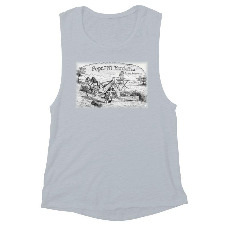 Bucolic Serenity Women's Tank by Popcorn Buddha Merchandise