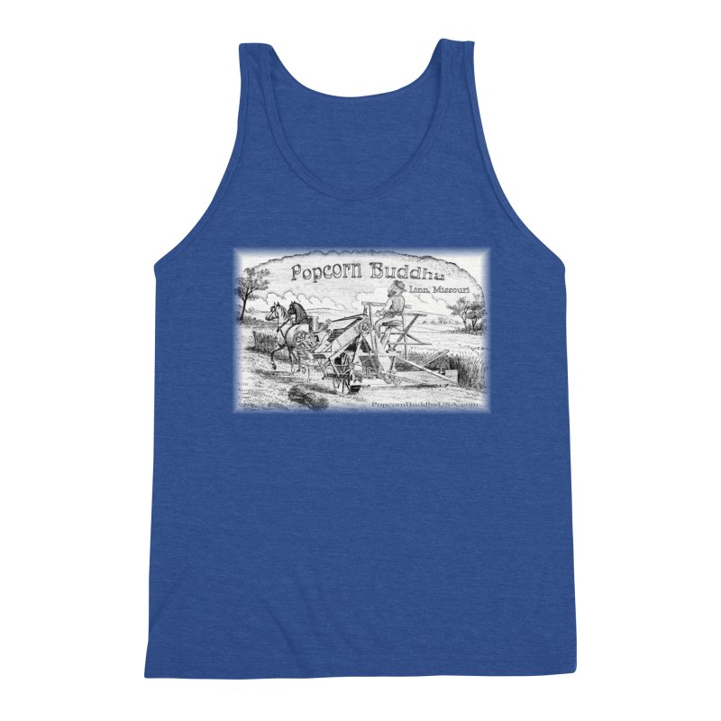 Bucolic Serenity Men's Tank by Popcorn Buddha Merchandise