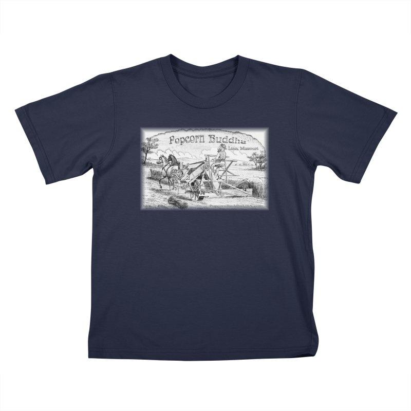 Bucolic Serenity Kids T-Shirt by Popcorn Buddha Merchandise