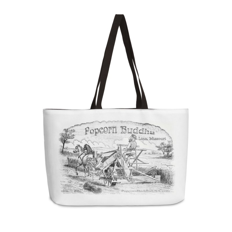 Bucolic Serenity Accessories Bag by Popcorn Buddha Merchandise