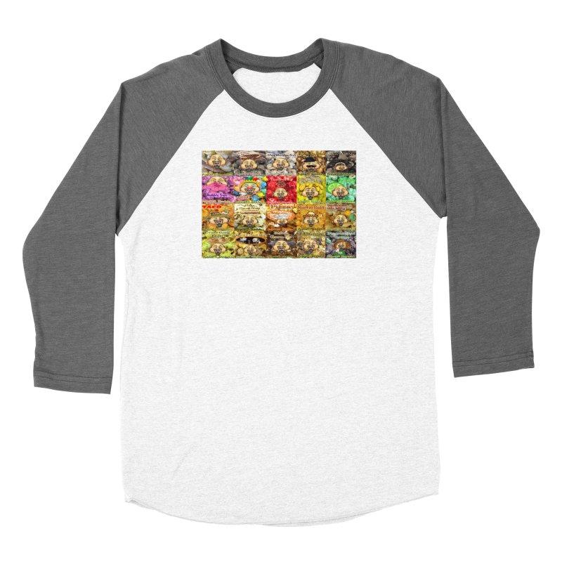 Flavor Panel Women's Longsleeve T-Shirt by Popcorn Buddha Merchandise