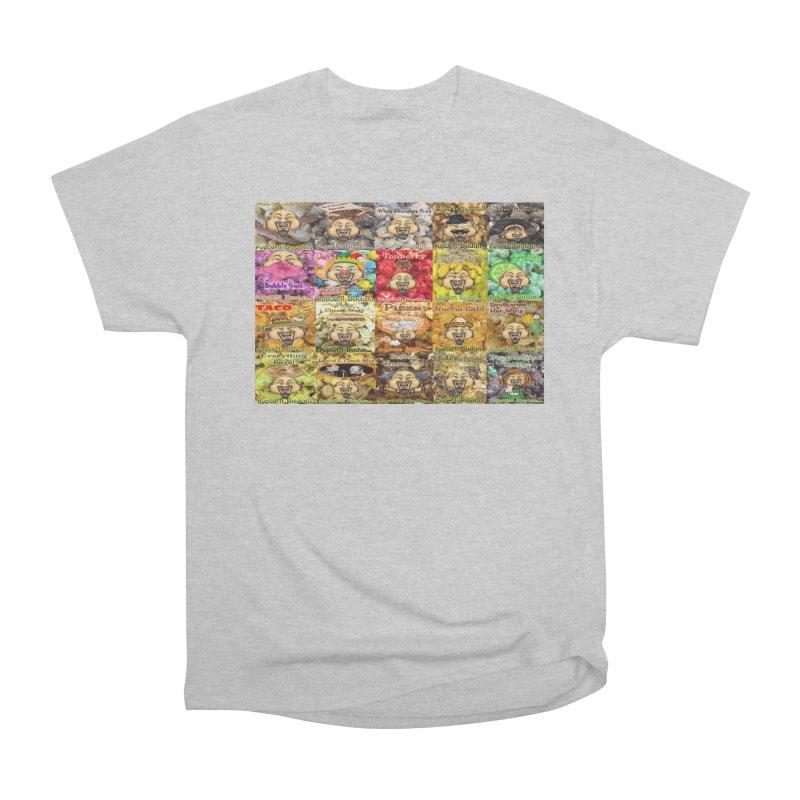 Flavor Panel Men's T-Shirt by Popcorn Buddha Merchandise