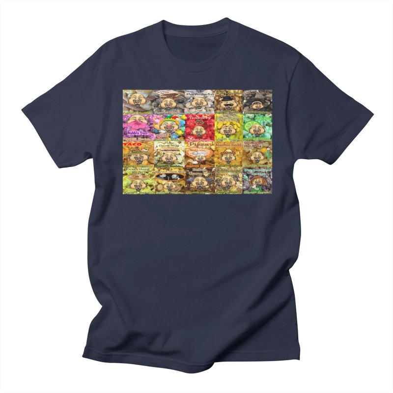 Flavor Panel Men's T-Shirt by Popcorn Buddha Merchandise