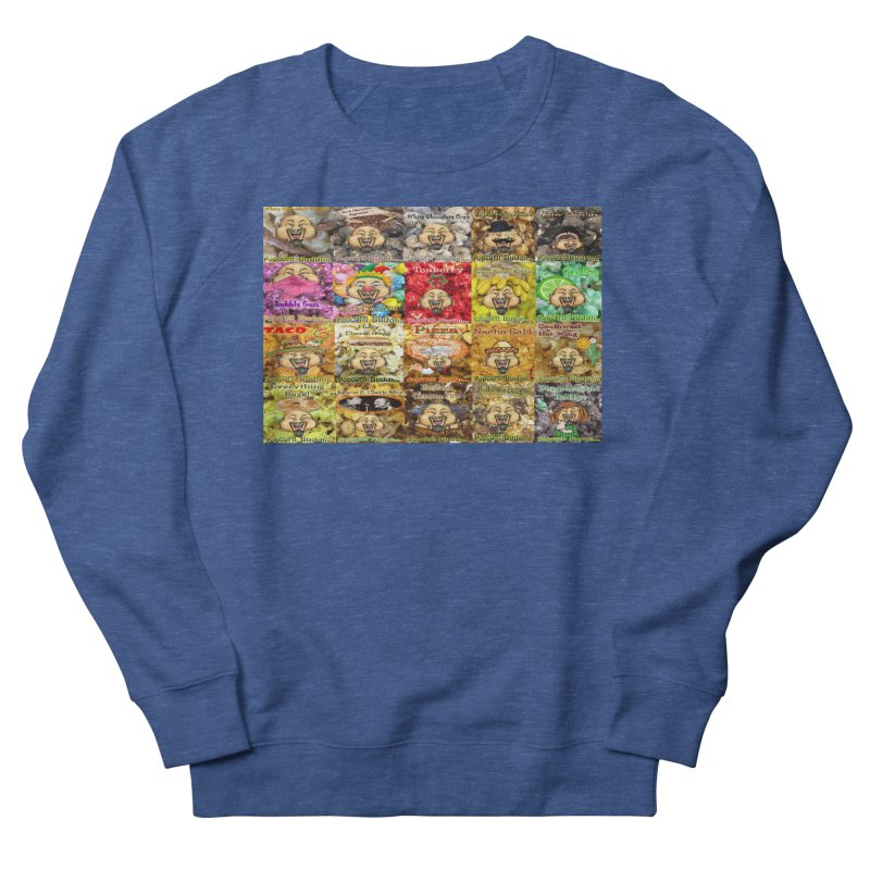 Flavor Panel Men's Sweatshirt by Popcorn Buddha Merchandise
