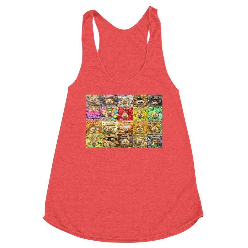 Flavor Panel Women's Tank by Popcorn Buddha Merchandise