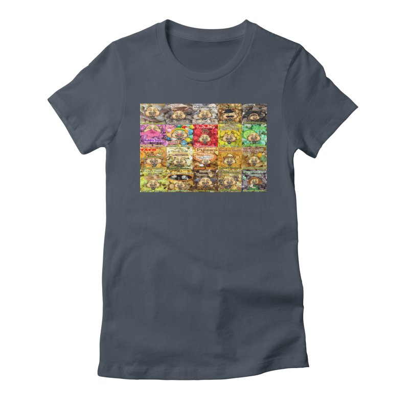 Flavor Panel Women's T-Shirt by Popcorn Buddha Merchandise