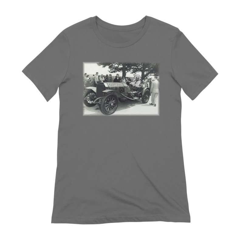 Classic Racecar Women's T-Shirt by Popcorn Buddha Merchandise