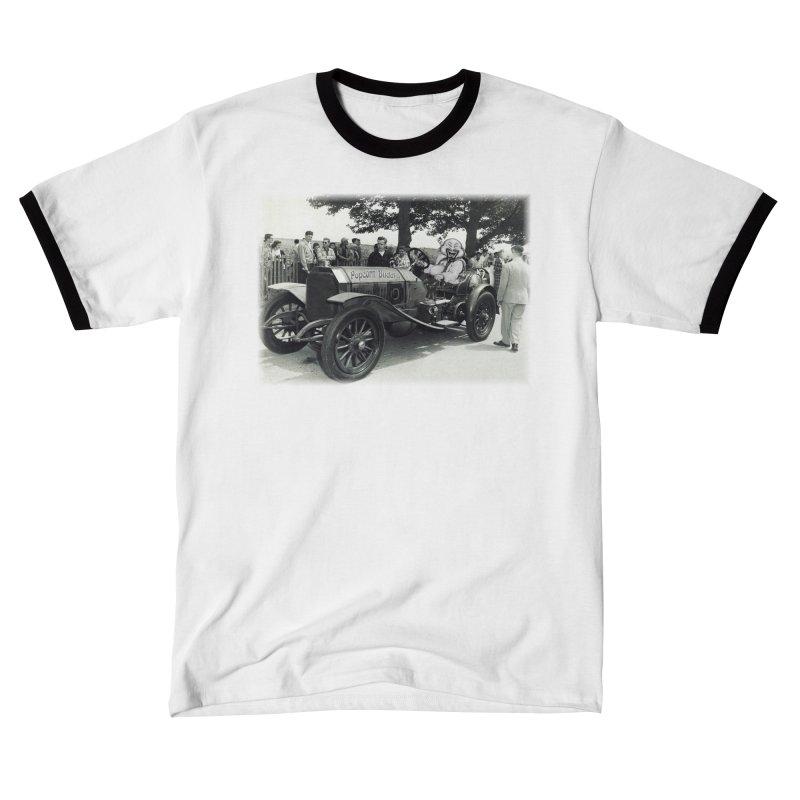 Classic Racecar Men's T-Shirt by Popcorn Buddha Merchandise