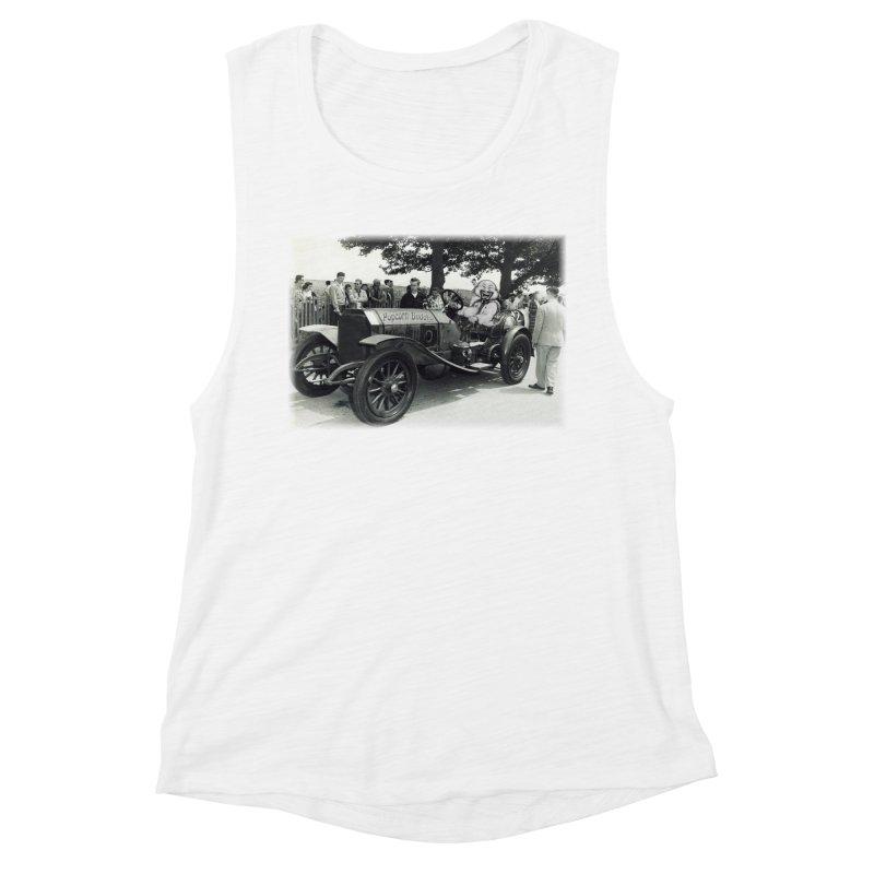 Classic Racecar Women's Tank by Popcorn Buddha Merchandise