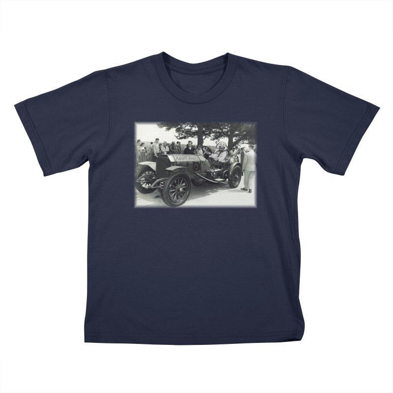 Classic Racecar Kids T-Shirt by Popcorn Buddha Merchandise