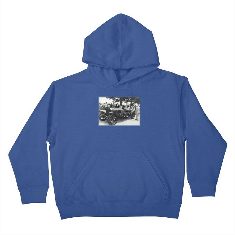 Classic Racecar Kids Pullover Hoody by Popcorn Buddha Merchandise