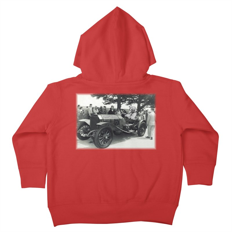 Classic Racecar Kids Toddler Zip-Up Hoody by Popcorn Buddha Merchandise