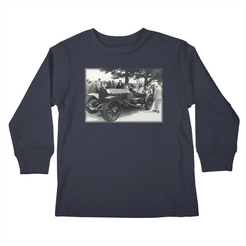 Classic Racecar Kids Longsleeve T-Shirt by Popcorn Buddha Merchandise