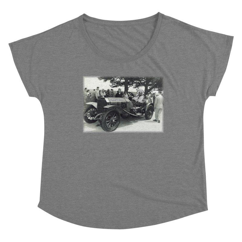 Classic Racecar Women's Scoop Neck by Popcorn Buddha Merchandise