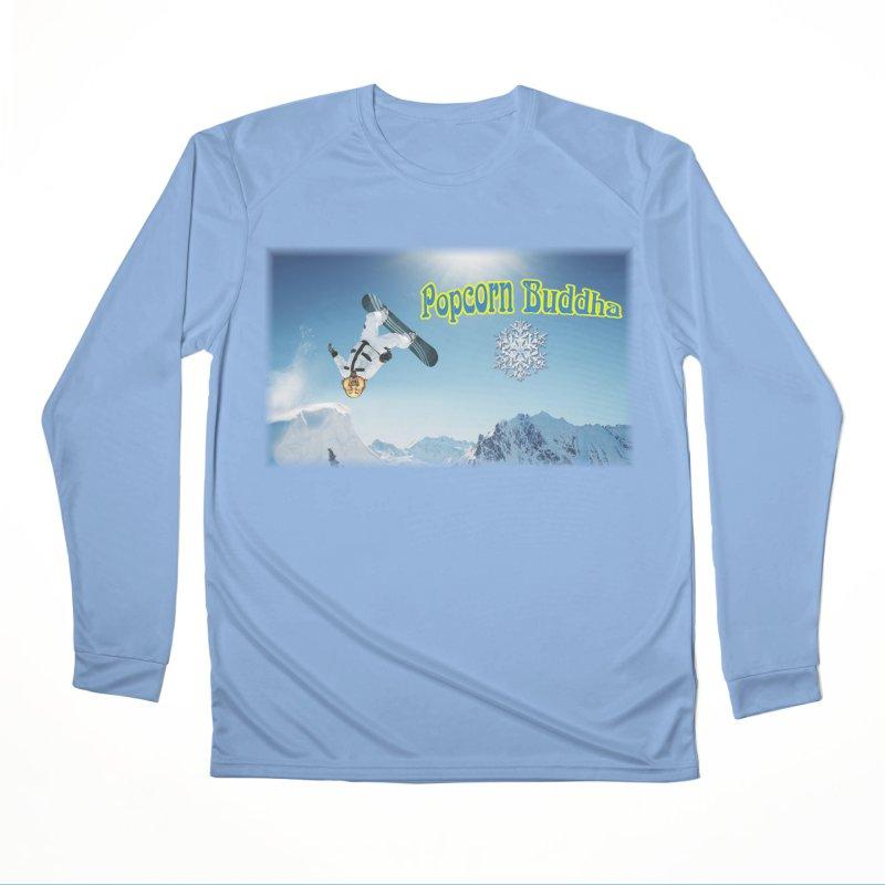 winter fun Women's Longsleeve T-Shirt by Popcorn Buddha Merchandise