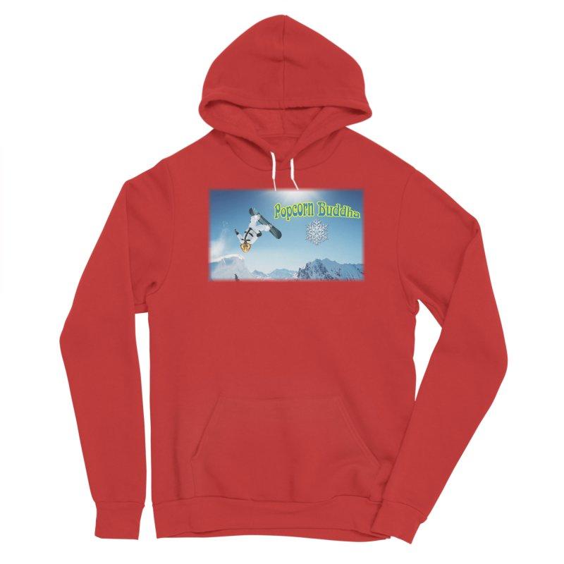 winter fun Men's Pullover Hoody by Popcorn Buddha Merchandise