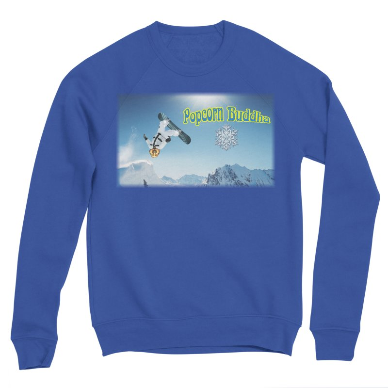 winter fun Men's Sweatshirt by Popcorn Buddha Merchandise